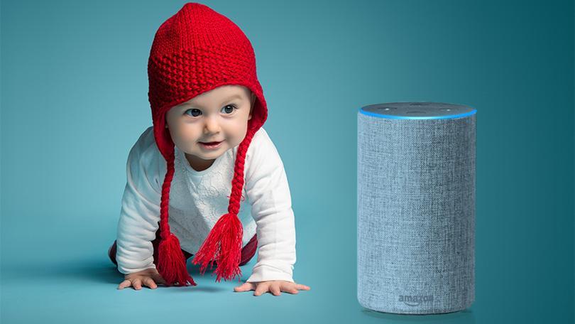 ¿Tienes un recién nacido? Cómo Amazon Alexa puede hacer la vida más fácil
