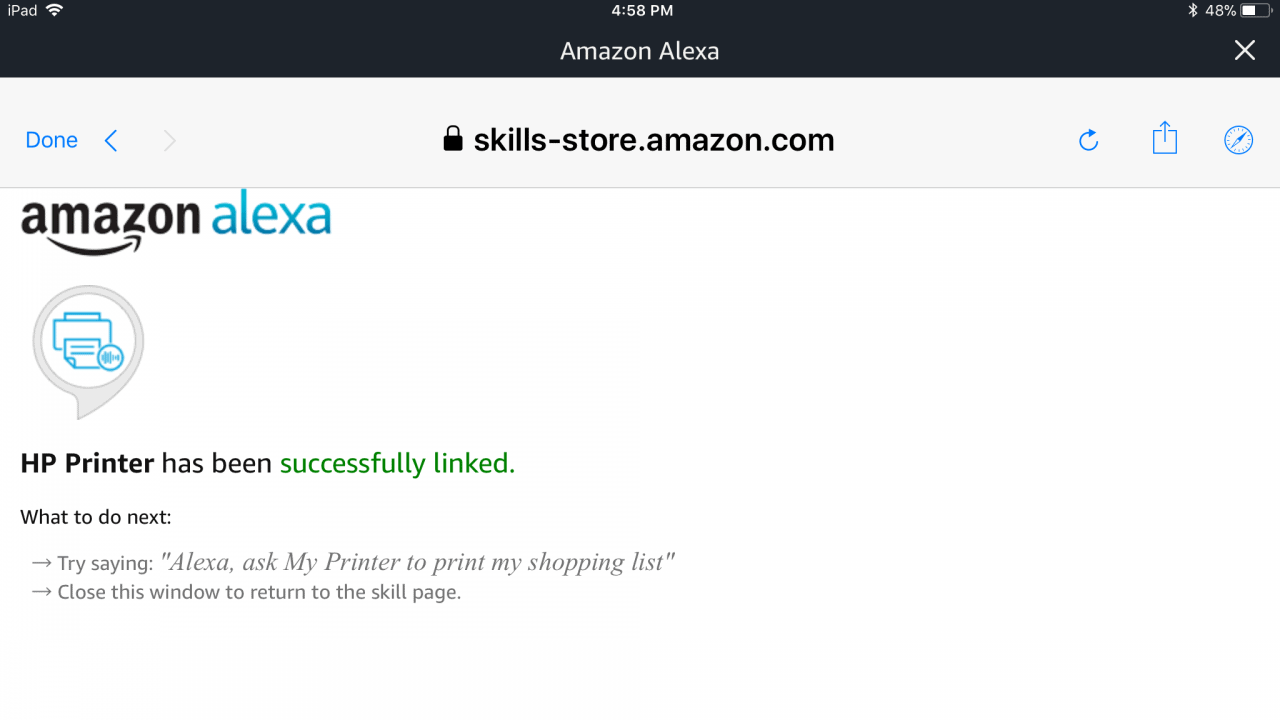 Cómo pedirle a Alexa que imprima en tu impresora HP