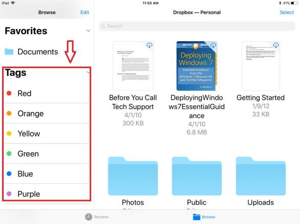 Cómo usar la aplicación de archivos en iOS 13 y iPadOS