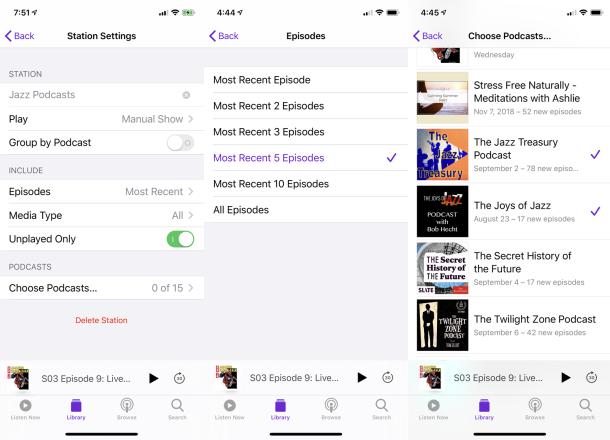 Cómo usar la aplicación de podcasts de Apple en tu reloj de Apple