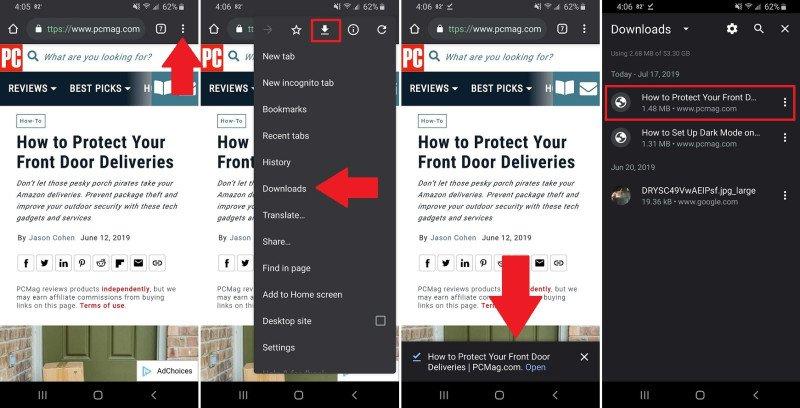 Cómo descargar un sitio web o un artículo para su lectura fuera de línea