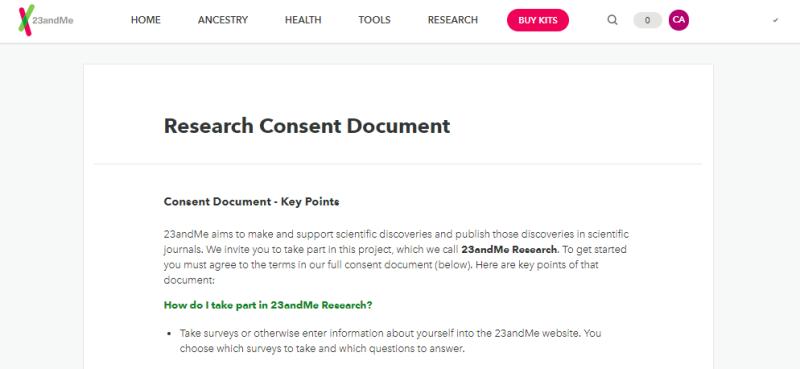 Cómo puedes evitar que 23andMe pase tu ADN para la investigación
