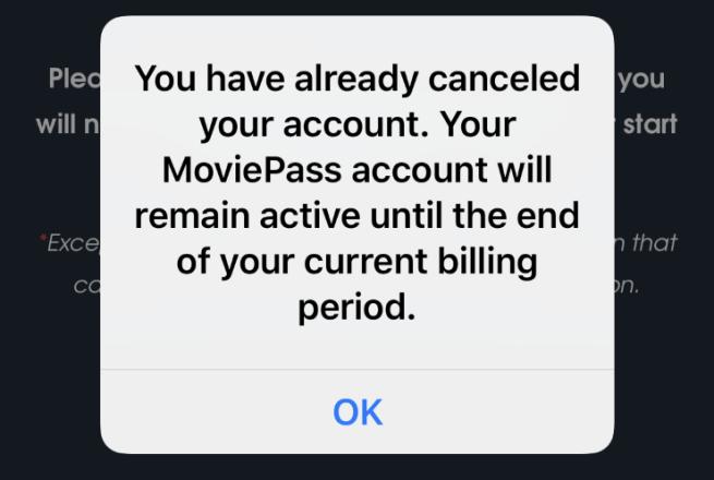 Cómo cancelar el MoviePass
