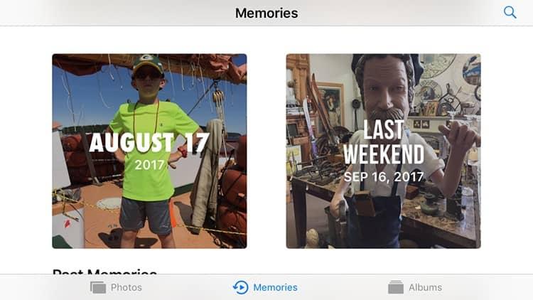 Cómo crear una presentación de diapositivas con la aplicación iOS Photos