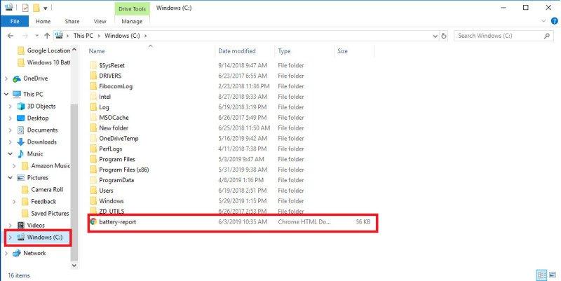 Para comprobar el nivel de carga de la batería de su portátil en Windows 10