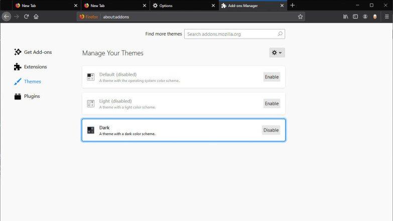 Cómo activar el modo oscuro en tu navegador de Internet