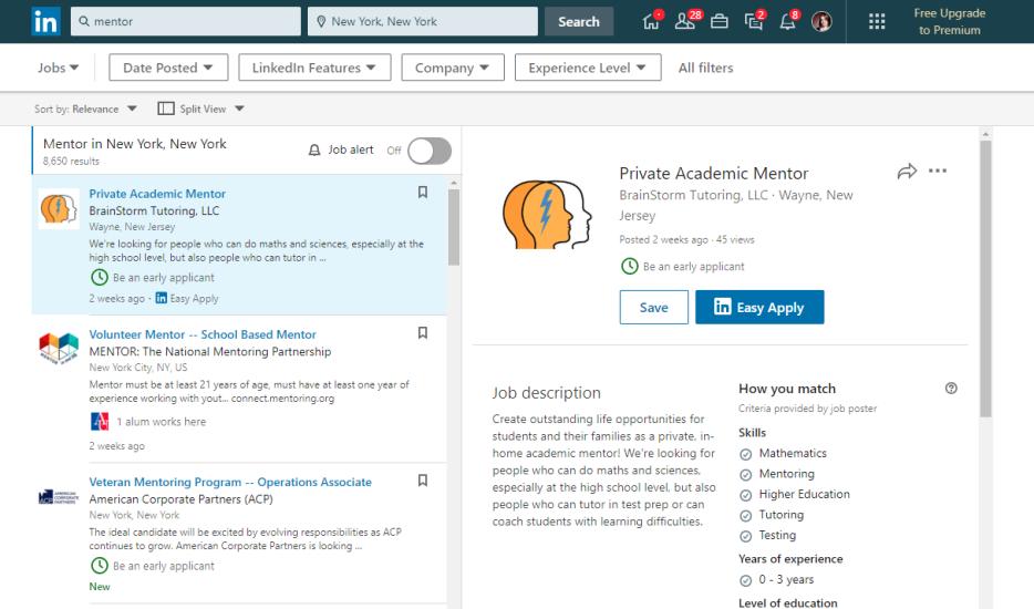 Cómo encontrar oportunidades de voluntariado en LinkedIn