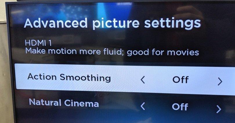 Cómo apagar la suavidad de movimiento en tu TV