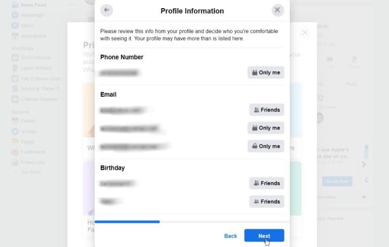 Cómo evitar que Facebook espíe sus actividades en Internet