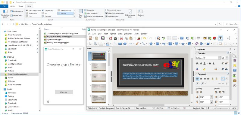 Ver archivos en Windows 10 sin abrirlos