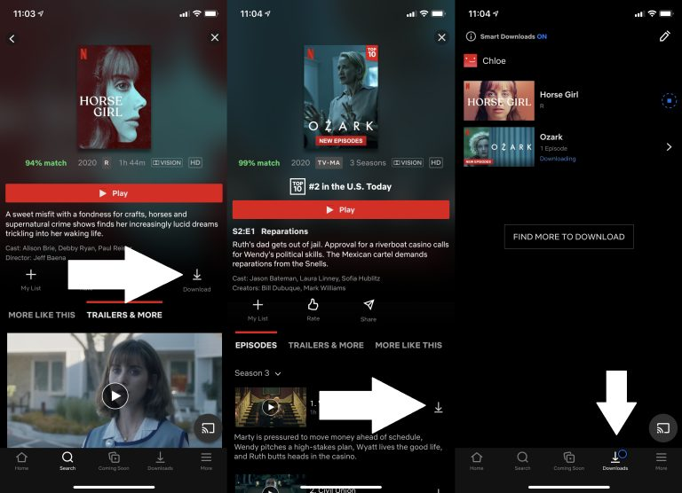 Cómo descargar video de tu servicio de streaming favorito