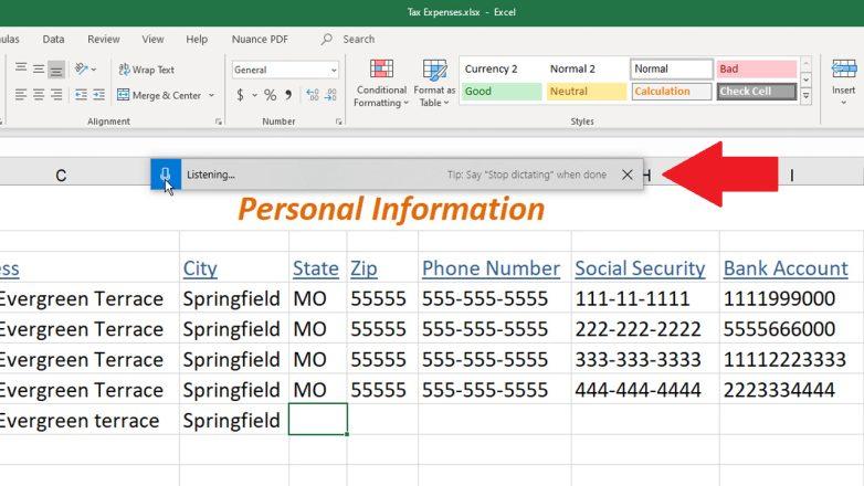 ¿Cómo se dicta el texto en Microsoft Office?