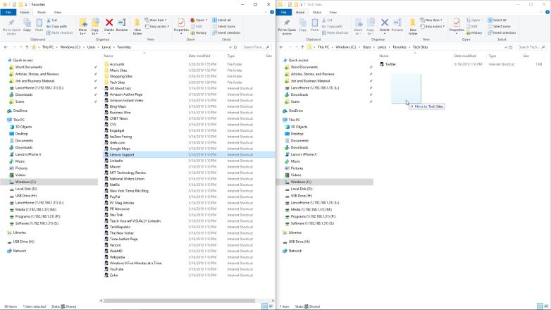 Cómo organizar y sincronizar los marcadores de su navegador