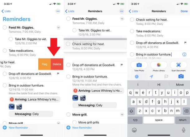 Cómo la aplicación de recordatorio actualizada de Apple puede mantenerte alerta