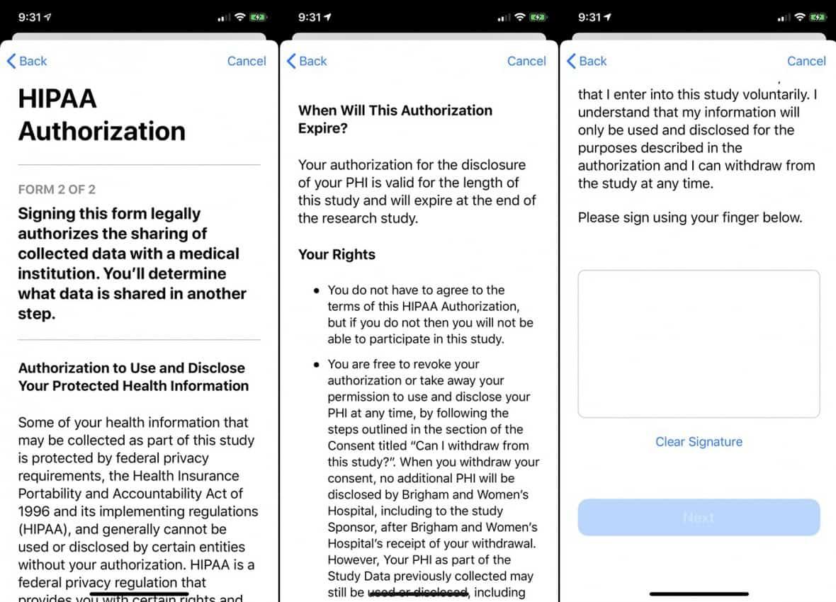 3 estudios de Apple Health Research en los que puedes inscribirte ahora