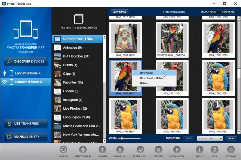 Cómo transferir fotos de forma inalámbrica desde el teléfono a un PC