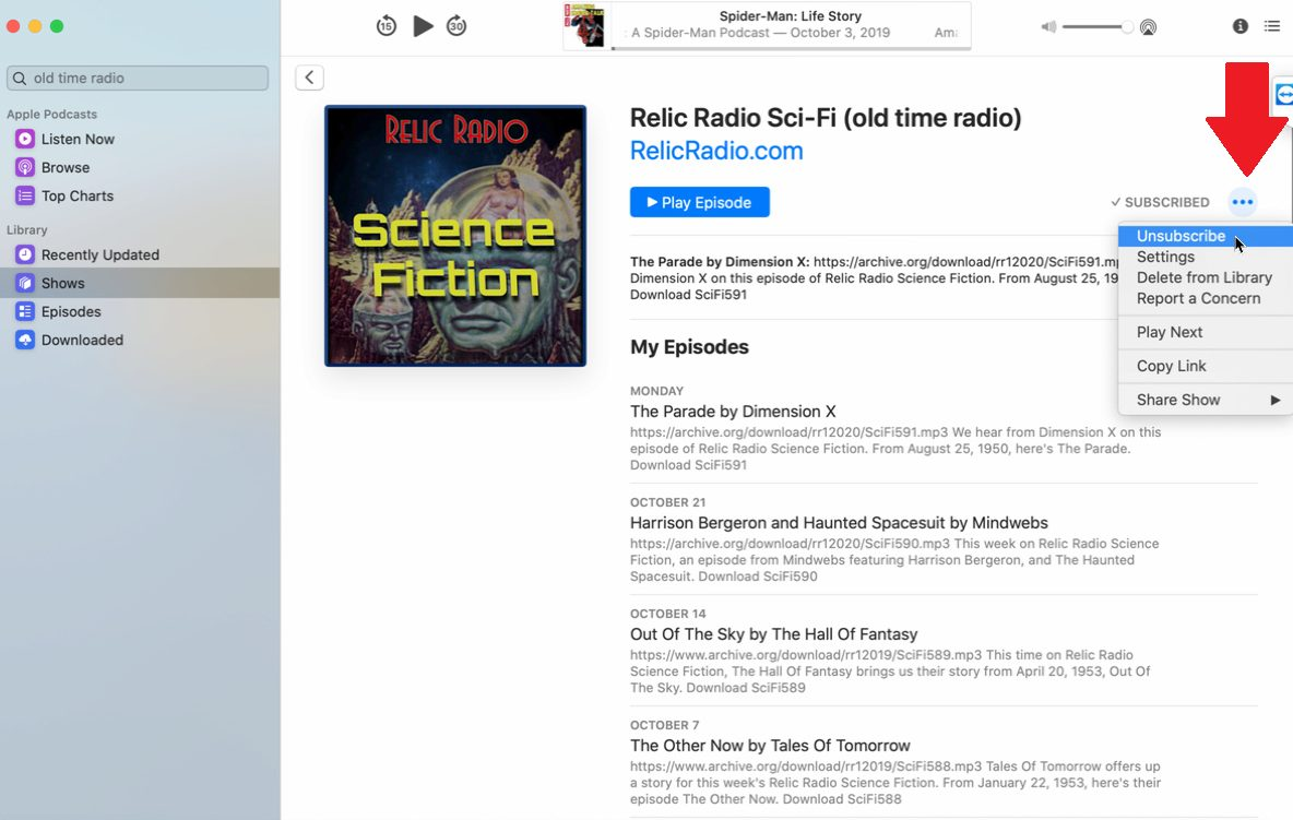 Cómo suscribirse a los podcasts en iOS, Mac e iTunes
