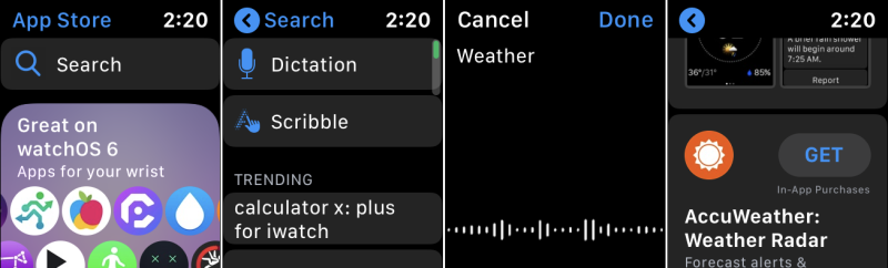 Cómo usar el nuevo App Store en tu reloj Apple