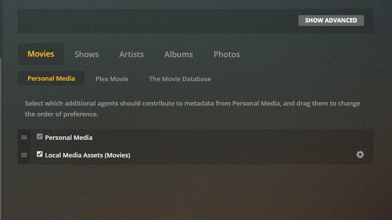 Cómo organizar su biblioteca de medios Plex