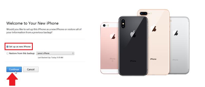 Para restaurar tu iPhone 8, iPhone X o iPhone 11