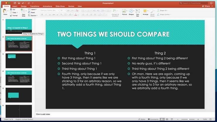 6 consejos para crear rápidamente grandes presentaciones de PowerPoint