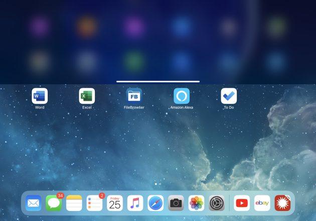Para navegar en el iPad Pro (sin el botón de Inicio)