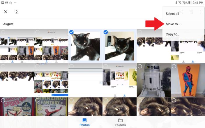 Cómo organizar y editar fotos con la aplicación Google Gallery Go