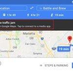 Cómo usar tu aplicación de música favorita en Google Maps