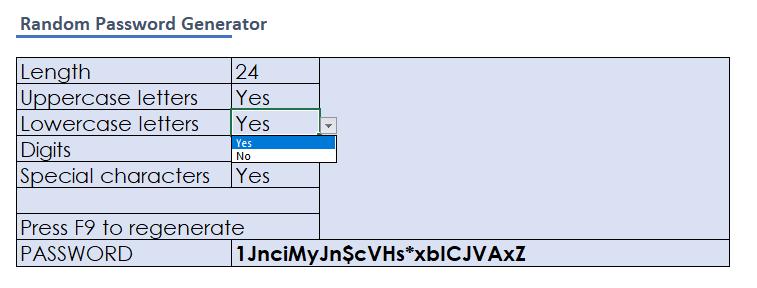 Cómo crear un generador de contraseñas aleatorias