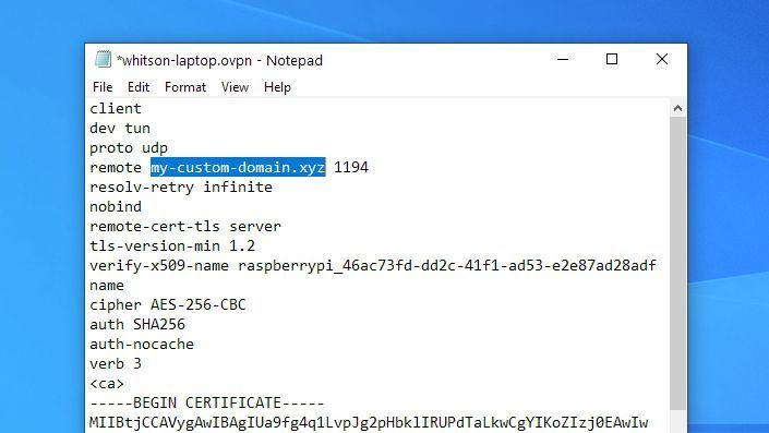 Cómo crear un servidor VPN con Raspberry Pi