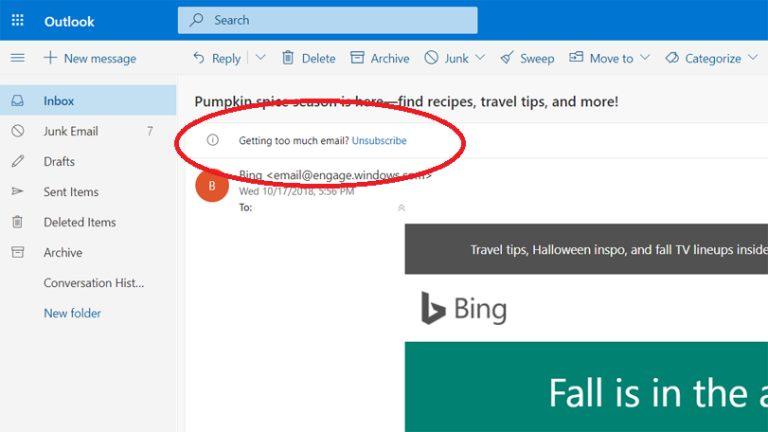 Cómo darse de baja del correo electrónico no deseado