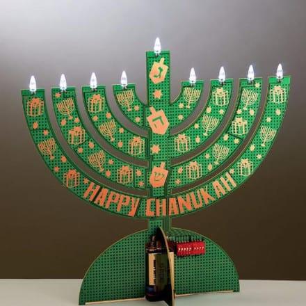 Cómo celebrar un Hanukkah de alta tecnología