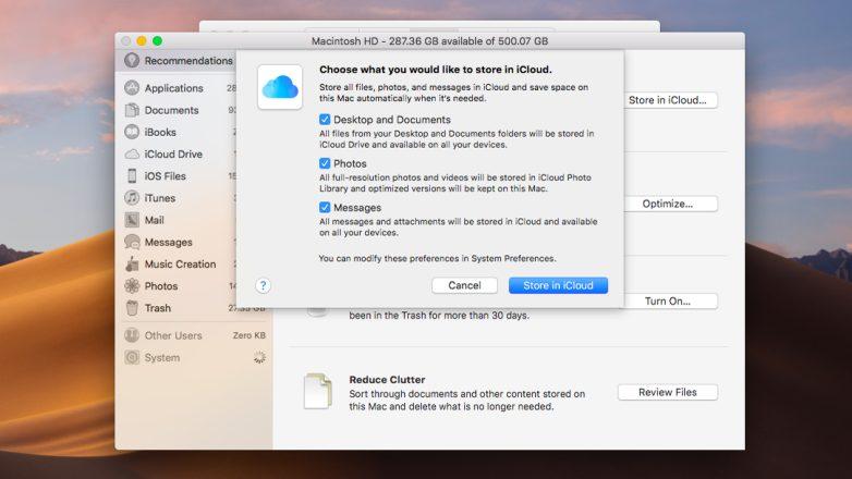 Cómo compartir el espacio del disco duro de tu Mac