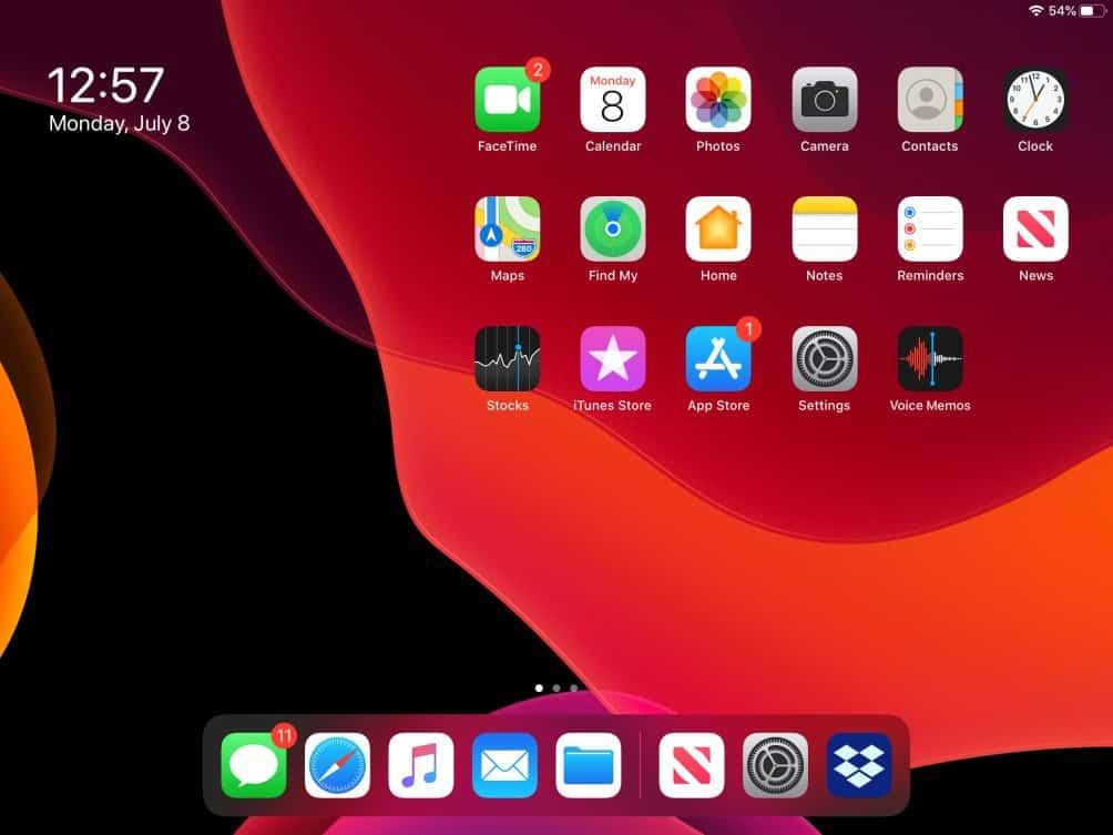 Cómo gestionar los widgets en iPadOS