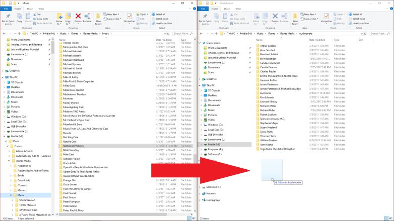 Cómo importar y organizar los audiolibros en el ordenador