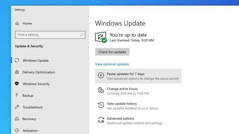 Cómo retrasar las actualizaciones de Windows 10