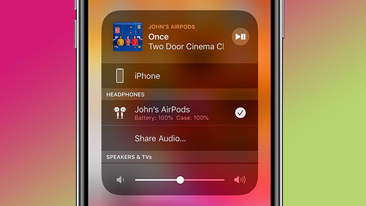Deja de lado el divisor de auriculares: comparte el audio con los AirPods de Apple