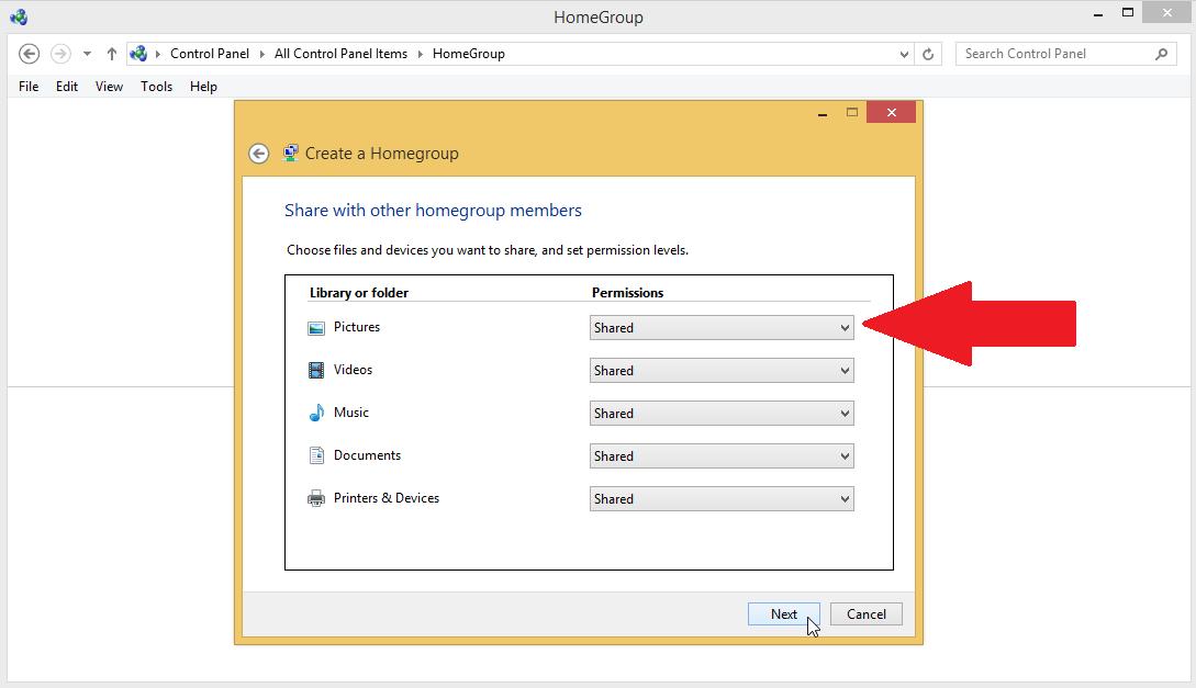 Cómo compartir archivos e impresoras en Windows
