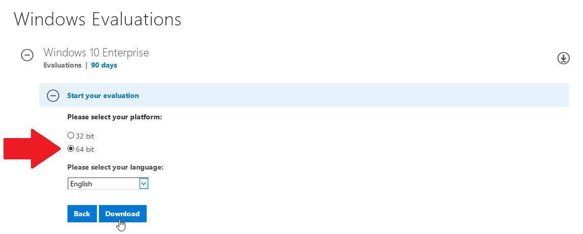 Cómo probar Windows 10 gratis durante 90 días