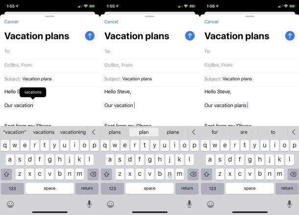 Cómo usar el nuevo teclado en el iOS 13 y el iPadOS