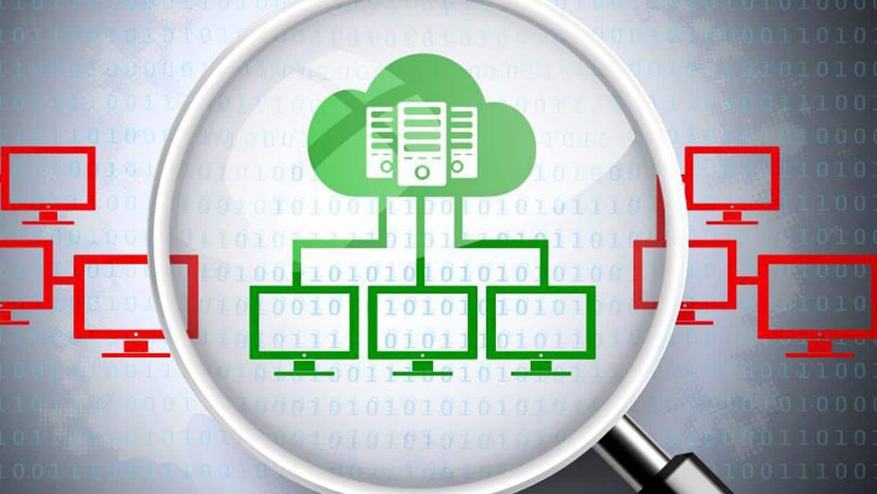 Imagen del software de gestión.
