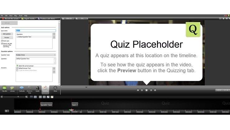 Cómo crear y editar videos en Trivantis Lectora usando TechSmith Camtasia