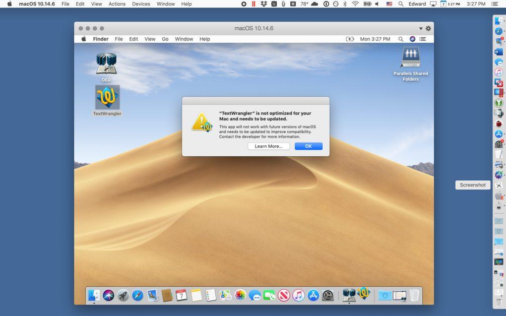 Cómo ejecutar aplicaciones de 32 bits en macOS Catalina