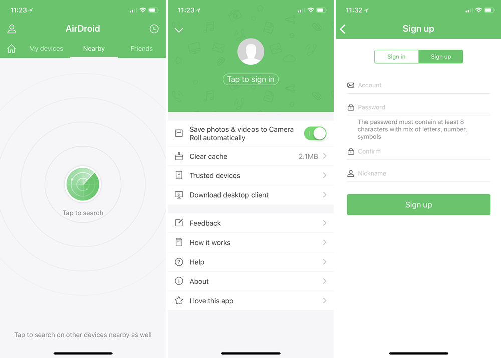 Getting Started With AirDroid