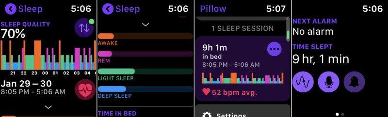Cómo rastrear tu sueño en Apple Watch