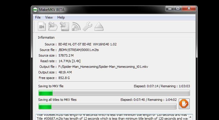 Cómo copiar discos Blu-ray a tu PC