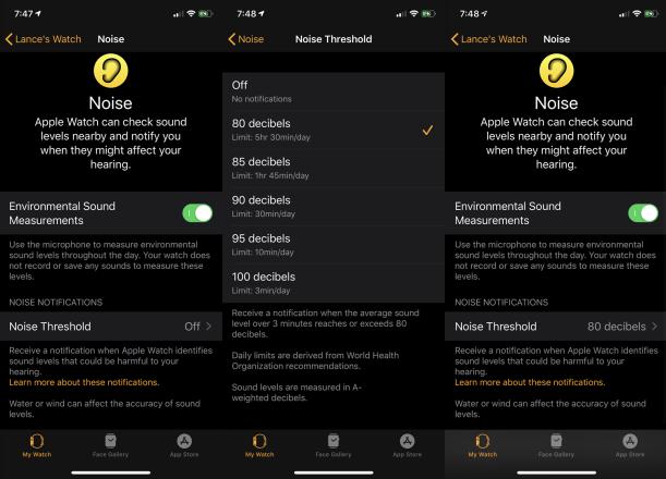 Cómo proteger tu oído con la aplicación Apple Watch Noise