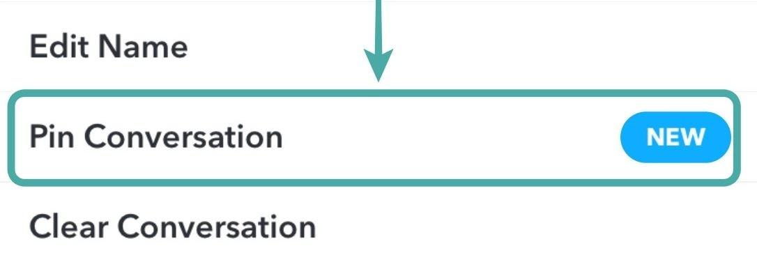 Cómo hacer un pin en Snapchat y qué significa