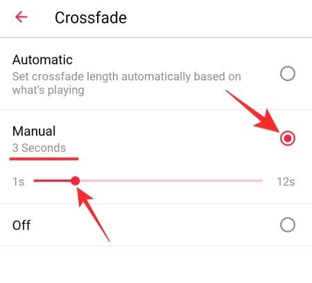 Cómo desactivar el crossfading automático en Apple Music en Android