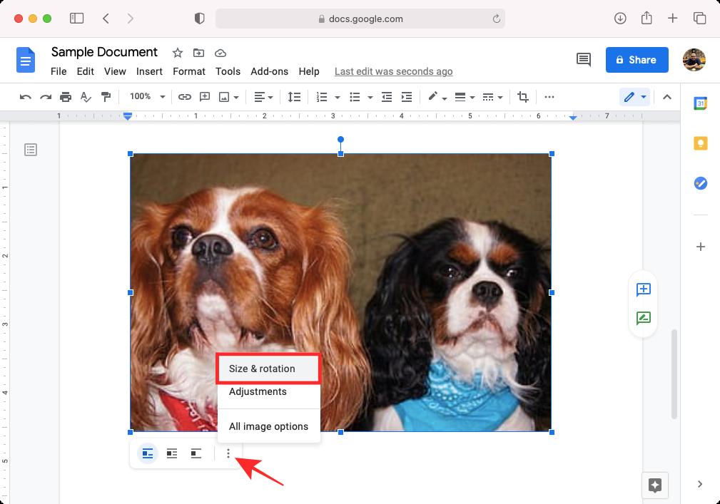 Cómo voltear imágenes en Google Docs en el móvil y en el PC